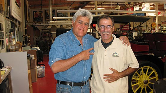 Jay Leno loves Cilajet auto paint protection