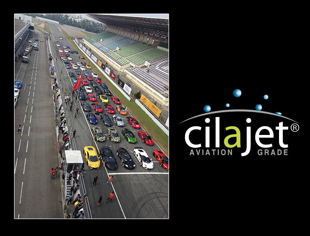 Cilajet auto paint protection at the Zhuhai International Circuit (ZIC), China